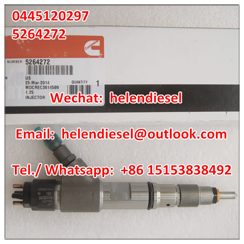 Genuine and New BOSCH injector 0445120297 , 0 445 120 297