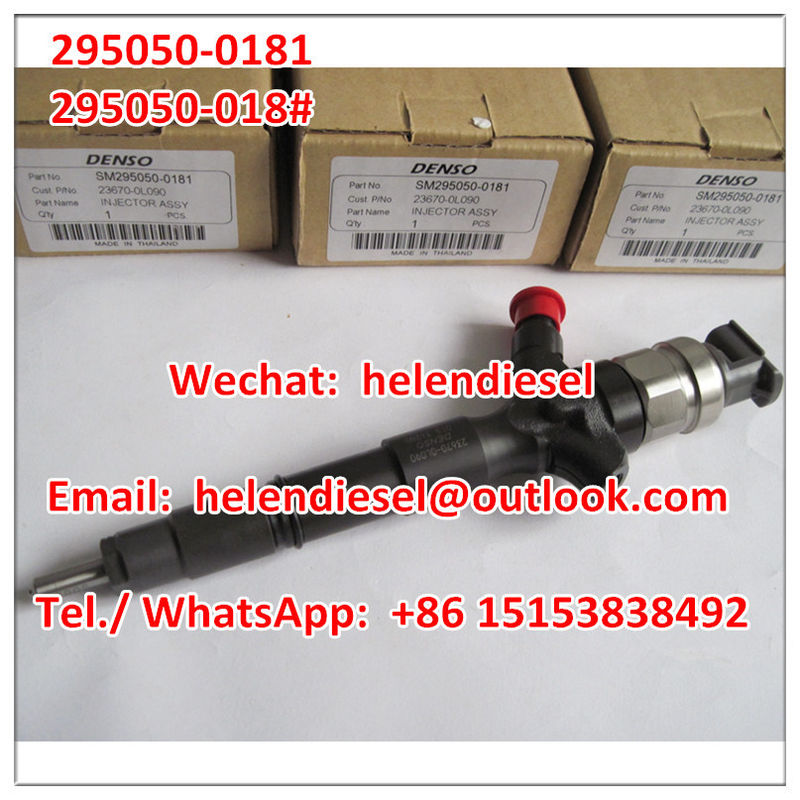 Genuine and New DENSO injector 295050-0180 ,295050-0181 , 295050-018